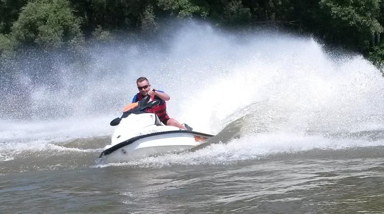 14. Safari na vodných skútroch II.