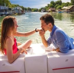 4. Romantická plavba